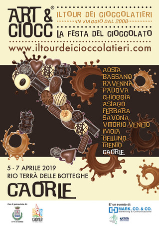 ART & CIOCC A CAORLE! Il Tour dei Cioccolatieri 2019