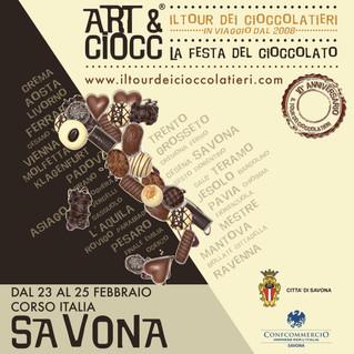 ART&CIOCC A SAVONA!!!