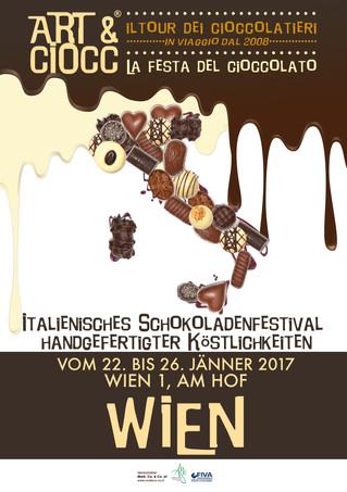 Art & Ciocc diventa internazionale con la tappa di Vienna dal 22 al 26 gennaio 2017
