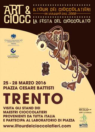 Trento a Pasqua si tinge di Art & Ciocc!