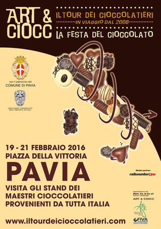 Art & Ciocc a Pavia, 19-20-21 febbraio