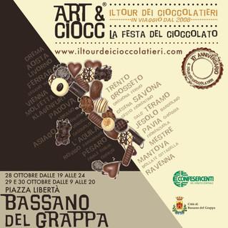 Art & Ciocc per la prima volta a Bassano del Grappa!