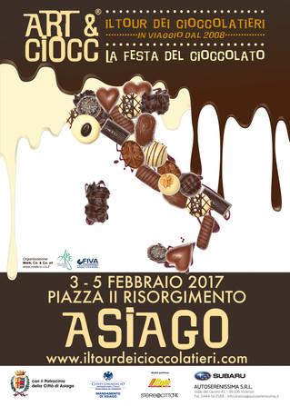 È ad Asiago la seconda tappa 2017 di Art & Ciocc