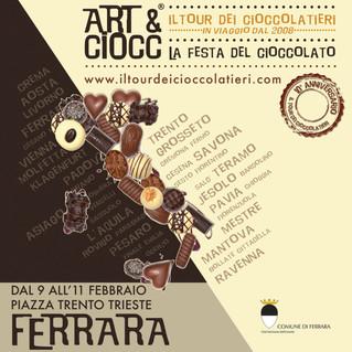 ART&CIOCC A FERRARA!!!