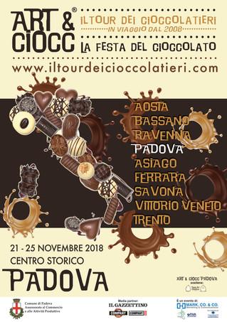 ART&CIOCC A PADOVA! Il Tour dei Cioccolatieri 2018-2019