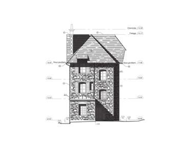 Patrimoine Maison 2D L3 Relevé 3D