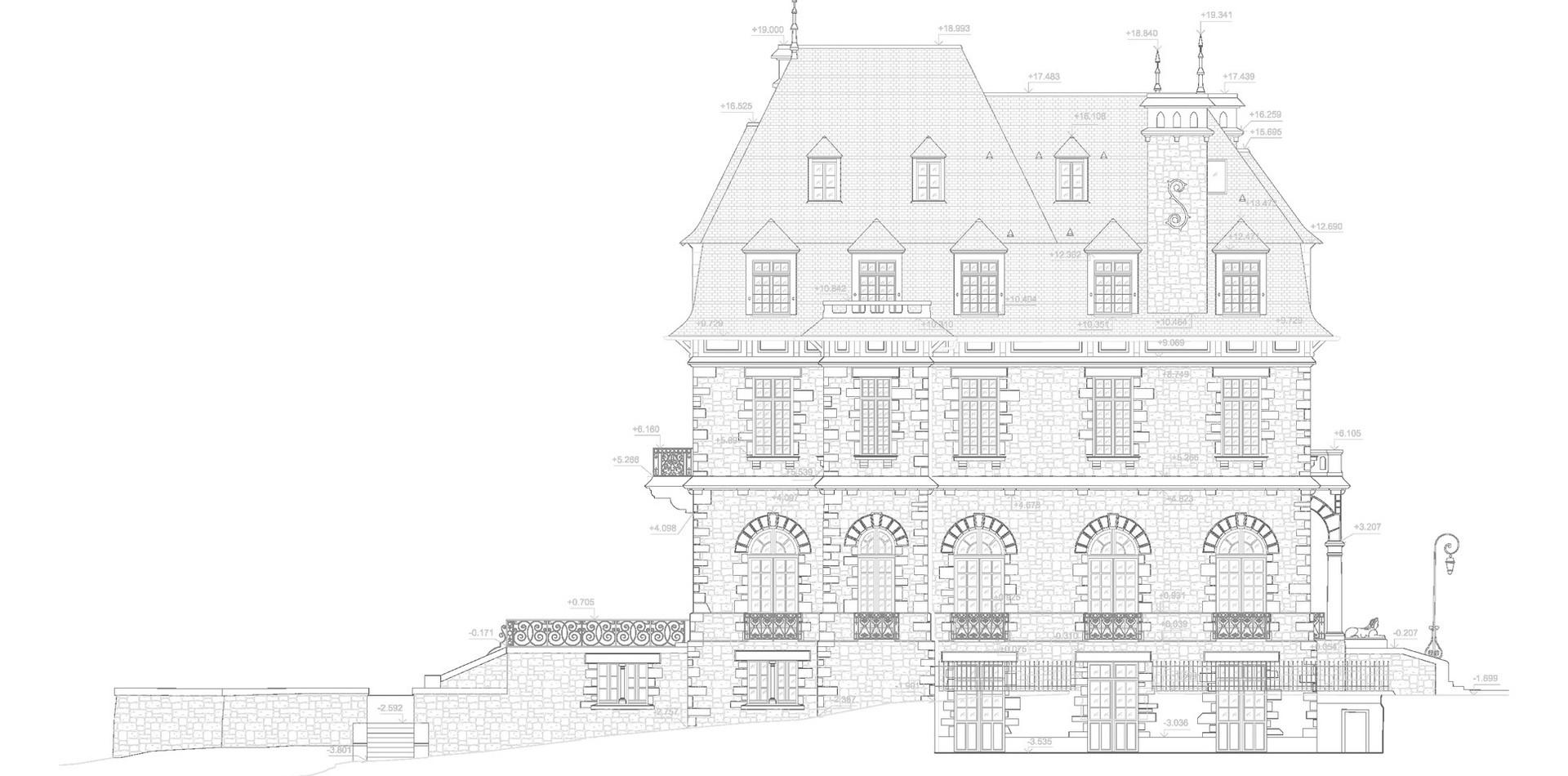 façade manoir