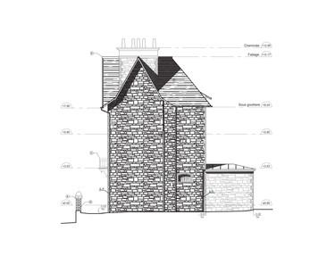 Maison 2D L3 Relevé Archiscan
