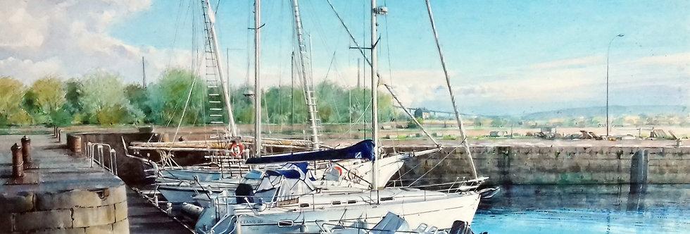 """HONFLEUR """"Le Bassin de l'Est"""""""