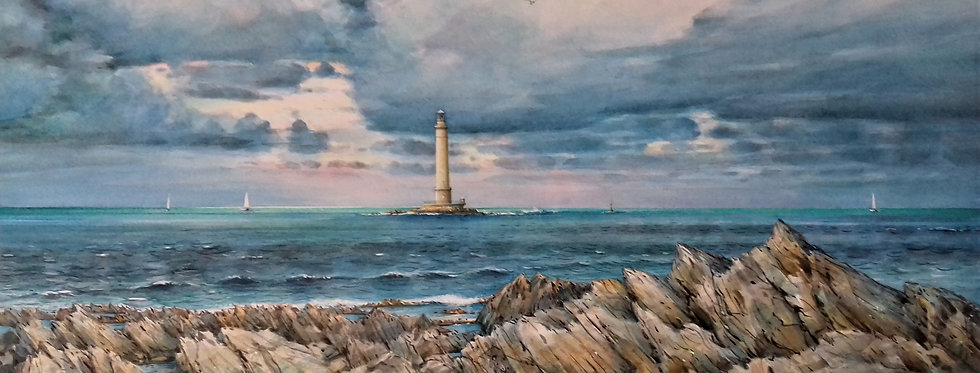 """Cotentin """"le phare de Goury"""""""