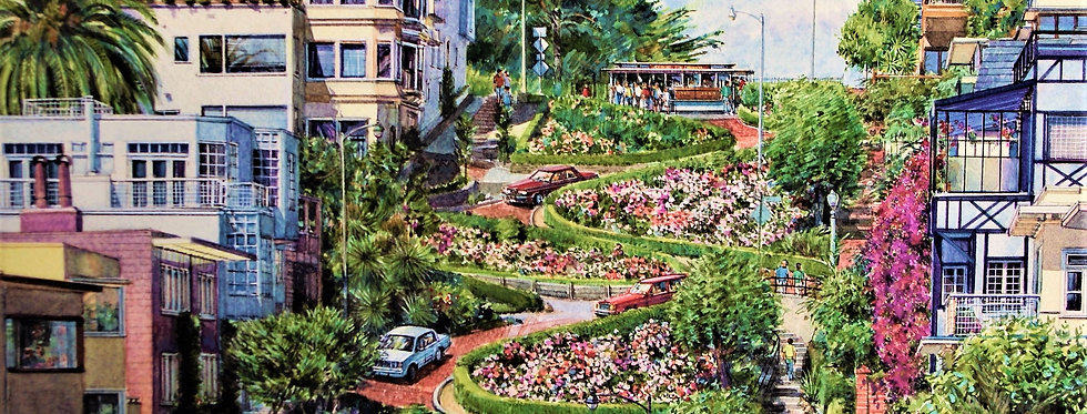 "San Francisco "" Lombard Street """