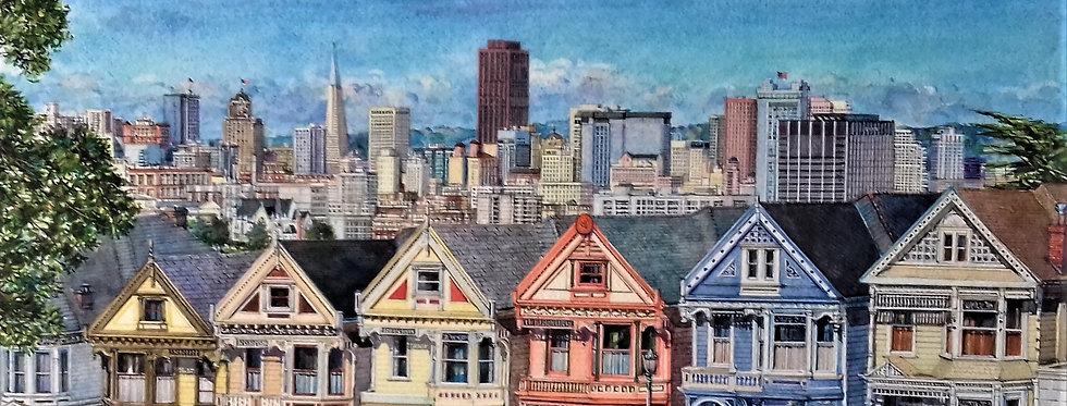 """""""San Francisco ,maisons Victoriennes"""""""