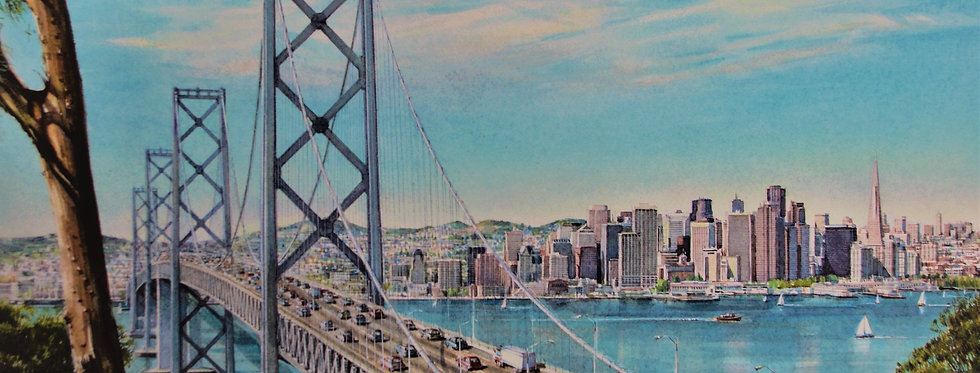 """ The Bay Bridge"""