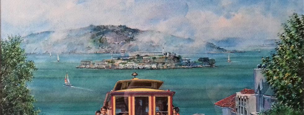 'San Francisco,cable car'