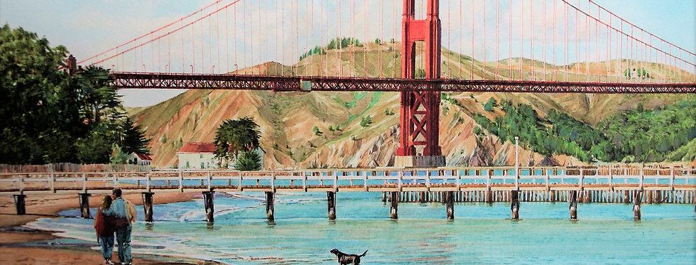 "Le "" Golden Gate – Crissy fields """