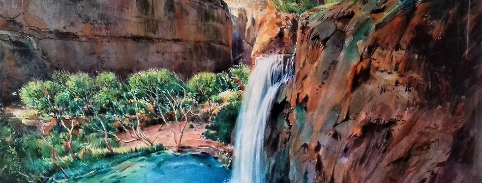 """ Havasupaï  Falls –Arizona """