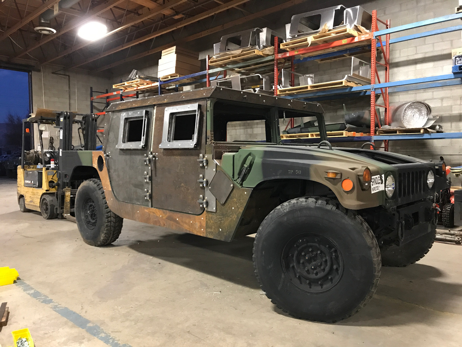 Plan B Supply offers Hard tops, Hard doors, Slant Back, Wagon Back kits  Custom designed to fit the Humvee® military vehicle are available for sale.