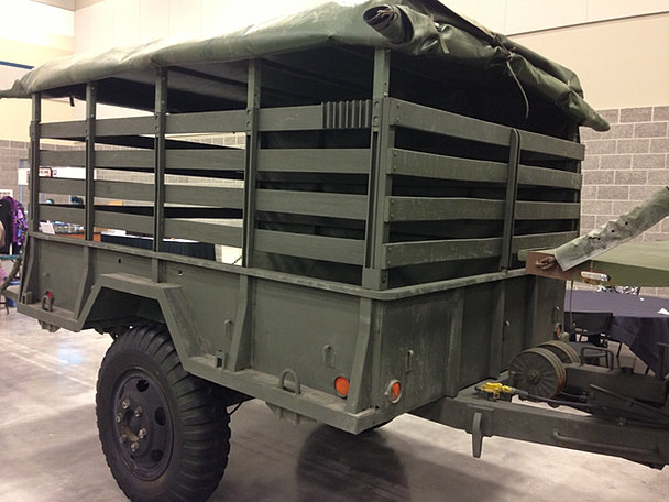 Fifth Wheel Truck >> Used Army Military surplus trailers trucks bobbed deuce and a half