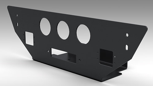 Humvee Winch Mounting Plate