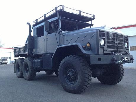 Custom Army Military 6x6 Trucks Bobbed Deuce And A Half