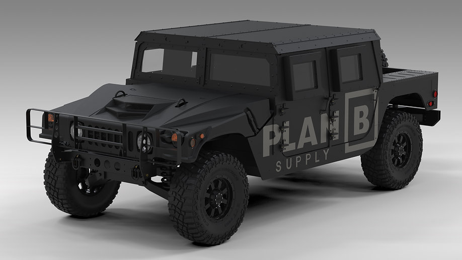 Plan B Supply Armored Humvees for sale