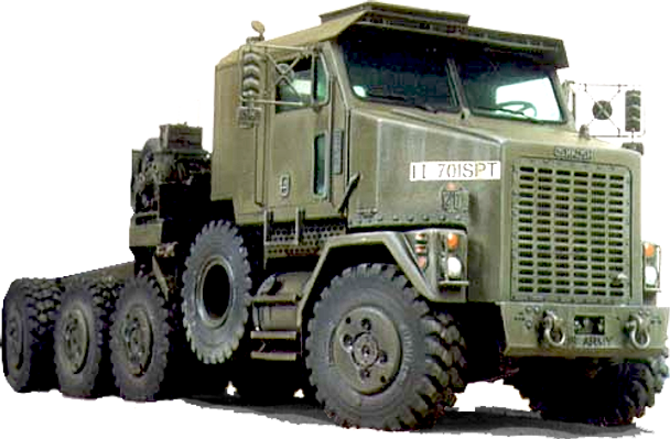Oshkosh 8x8 M1070 Abrams Tank Hauler Heavy Duty Military