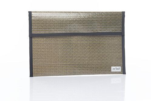 Gold A4 document folder