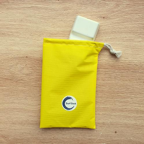 Upcycled wax bag