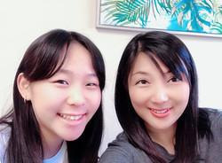 Korean private class student