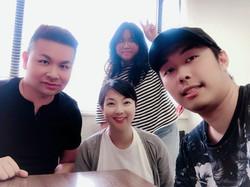 Korean language group class