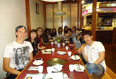 japanese restaurant night