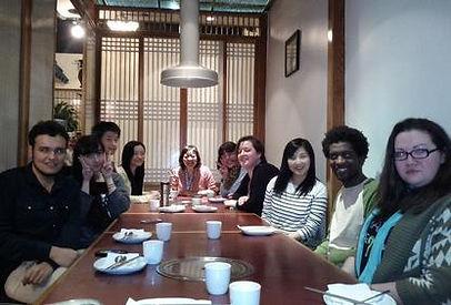 korean restaurant night