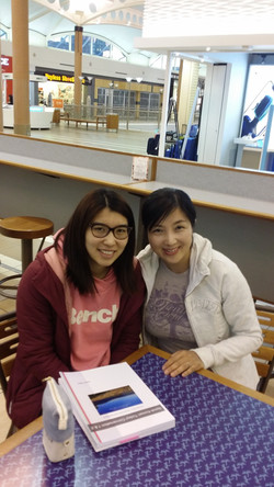My Language Connect Korean Class Student and Teacher