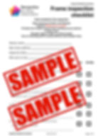 Frame Inspection Checklist