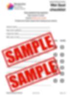 Wet seal or Waterproofing Checklist