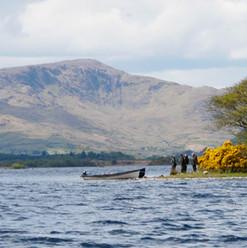 Fishing on Lough Corrib