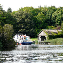 Boat trip on Lough Corrib