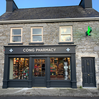 The Apothecary is located above Cong Pharmacy