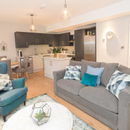 Open plan Kitchen / Dining / Living Room