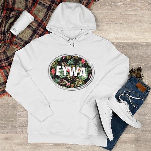 White EYWA Floral Hoodie