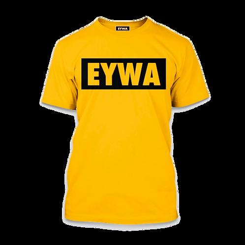 EYWA Yellow-Blackout T-Shirt