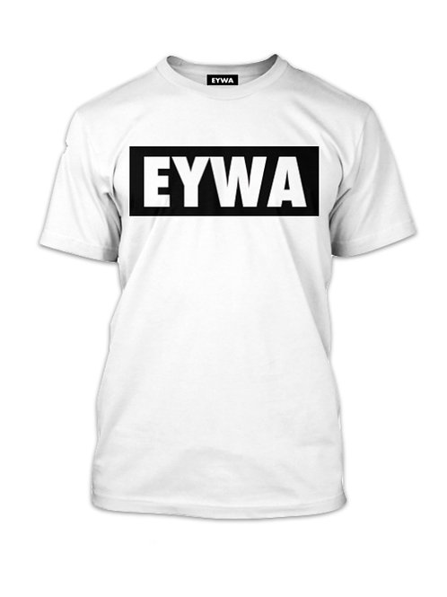 White EYWA Blackout T-Shirt