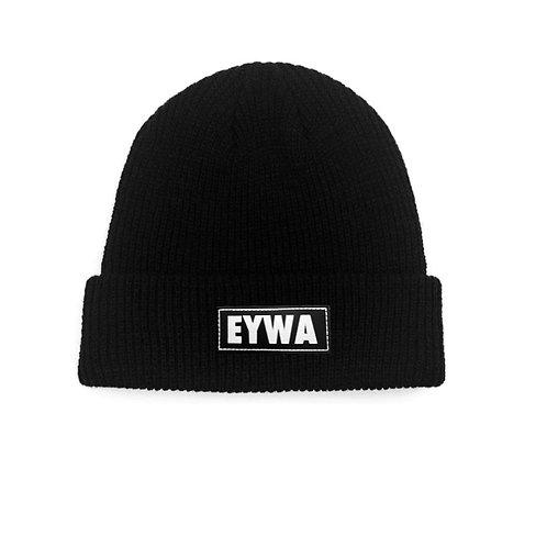 Black EYWA Beanies