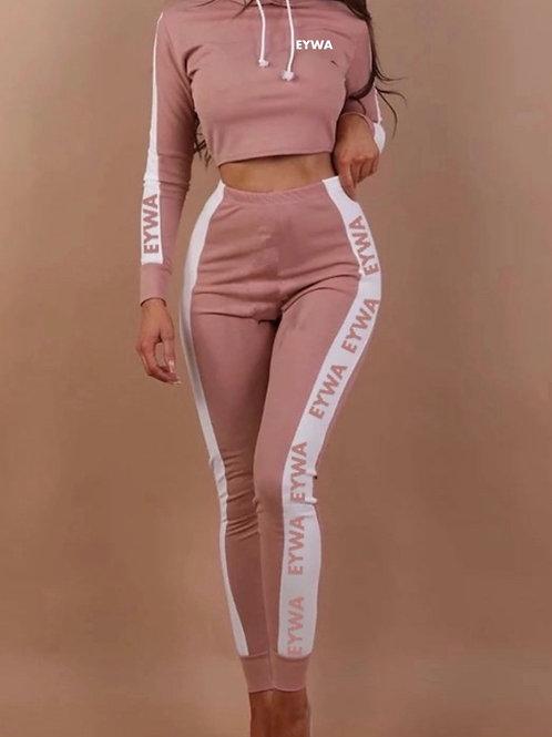 Women's Pink EYWA Jumpsuit