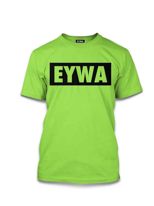 EYWA Lime Blackout T-Shirt
