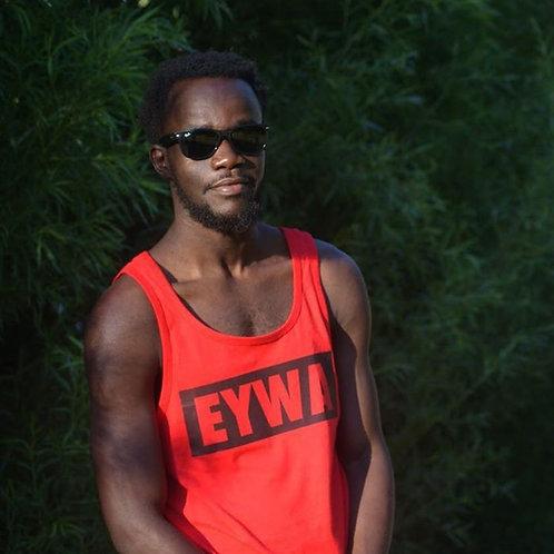 EYWA Red Blackout Tank Top