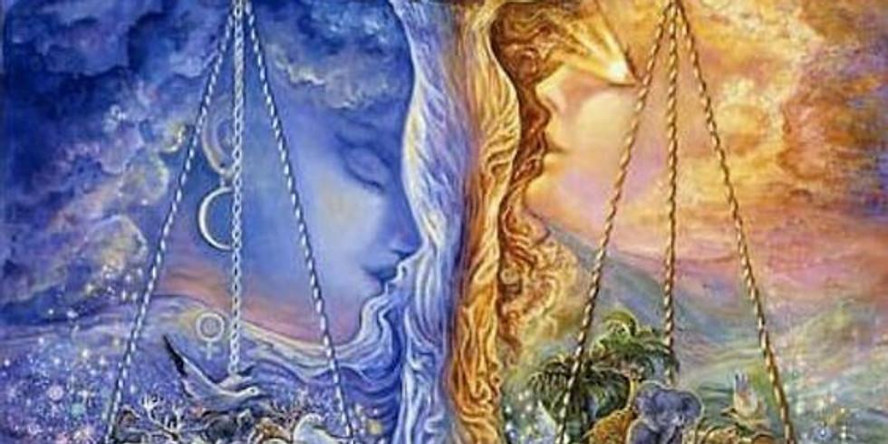 Guérison Arc-en-ciel L'union de l'Ombre & la Lumiere ying/yang