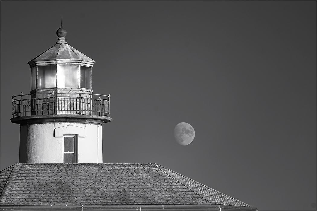 Moonrise in Bandon