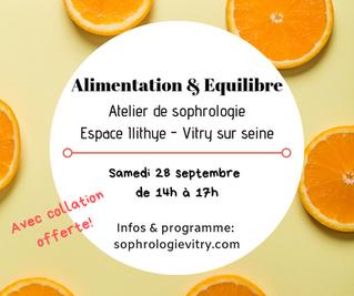 Session Alimentation & Equilibre