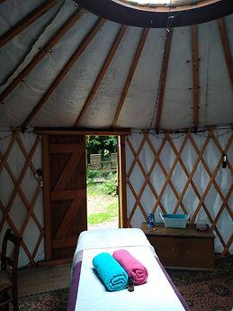 Massage in the Yurt.JPG
